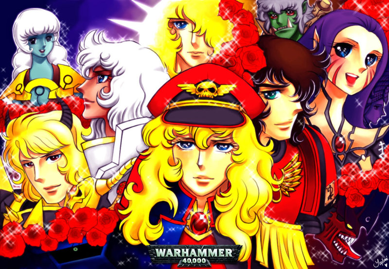 In the Glam Lightness of the '90s there Is only Warhammer