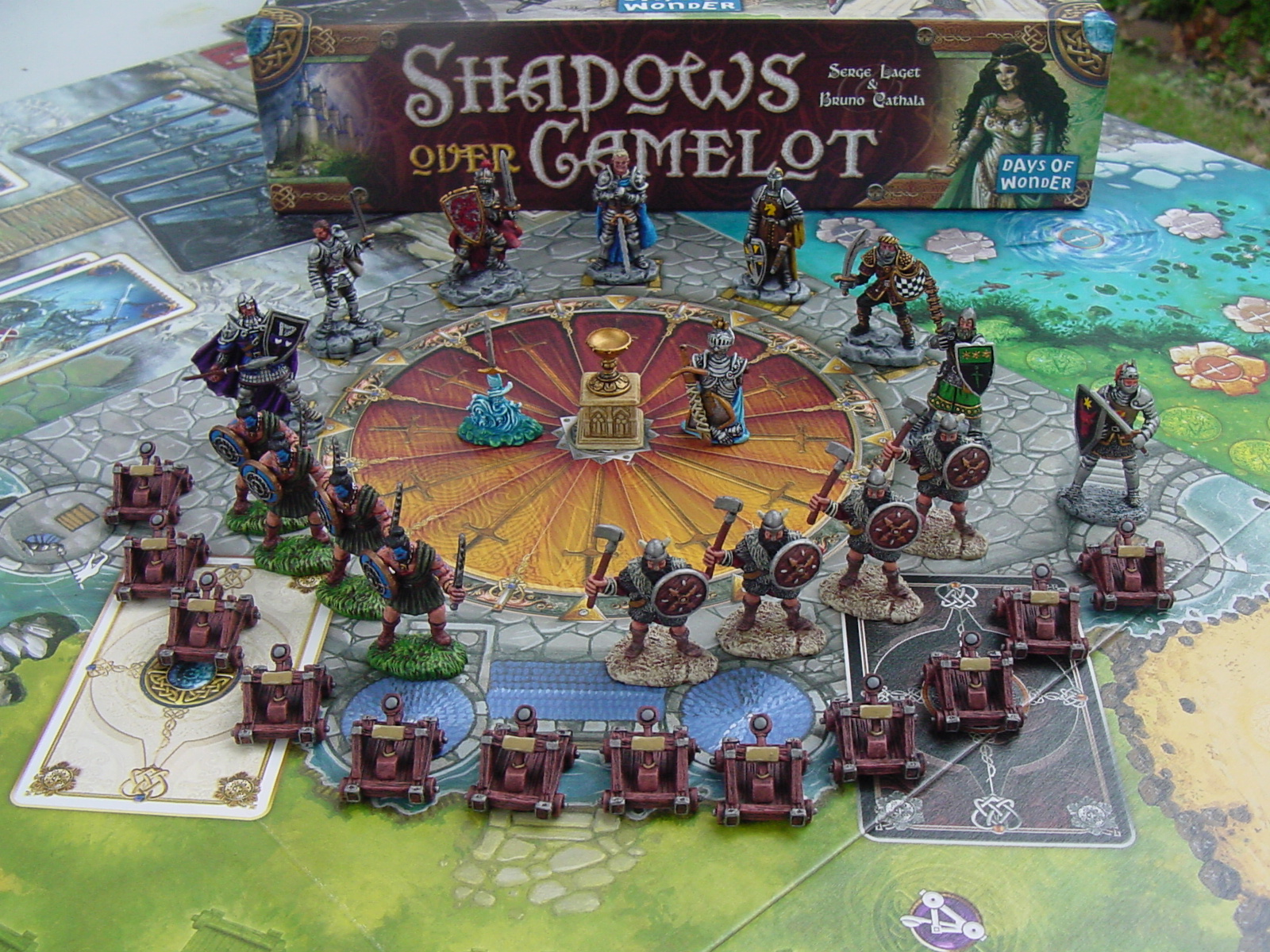 Game Night: Shadows Over Camelot